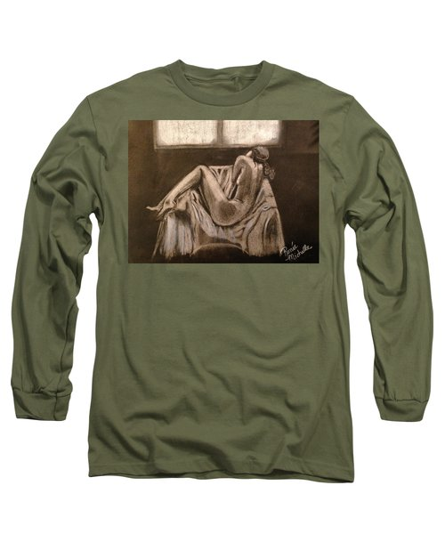 Solitude Long Sleeve T-Shirt by Renee Michelle Wenker