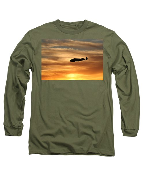 Long Sleeve T-Shirt featuring the photograph Solo by David S Reynolds