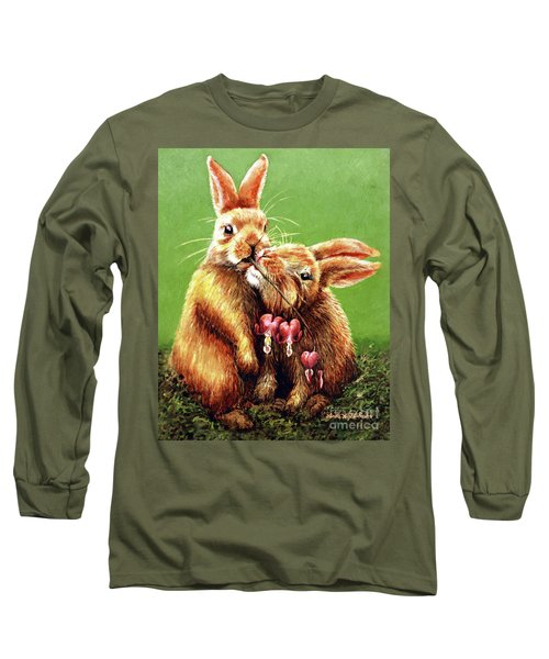 Some Bunny Loves You Long Sleeve T-Shirt