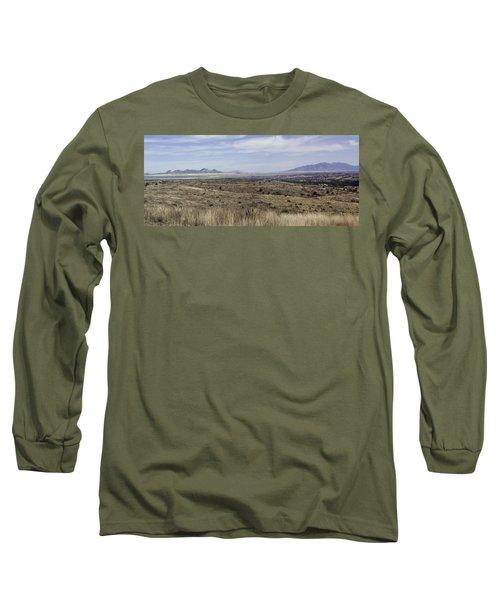 Sonoita Arizona Long Sleeve T-Shirt by Lynn Geoffroy
