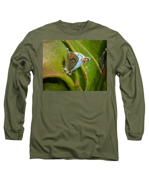 Sonoran Blue Long Sleeve T-Shirt by Jim Thompson