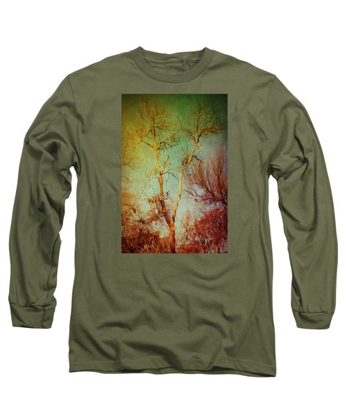 Souls Of Trees Long Sleeve T-Shirt by Trish Mistric