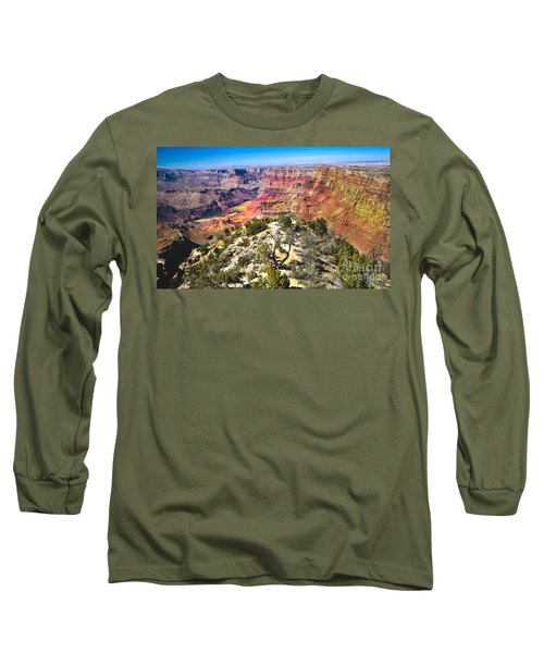 South Rim From The Butte Long Sleeve T-Shirt by Robert Bales