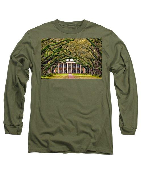 Southern Class Oil Long Sleeve T-Shirt