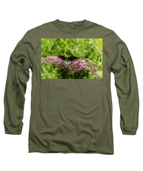 Spicebush Swallowtail Long Sleeve T-Shirt