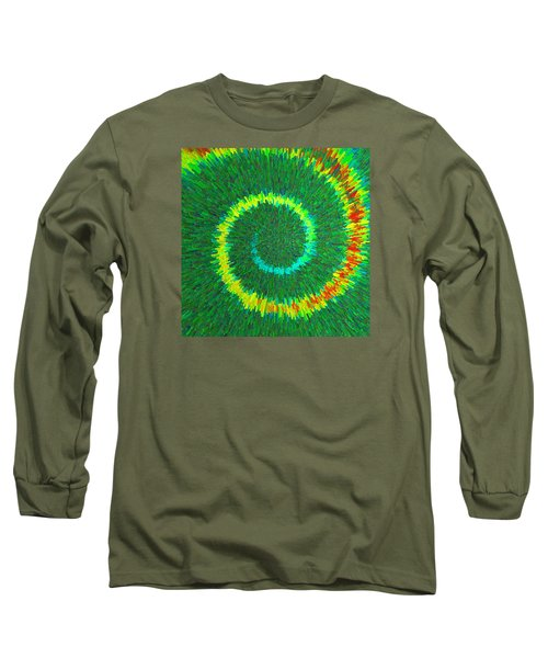 Spiral Rainbow C2014 Long Sleeve T-Shirt