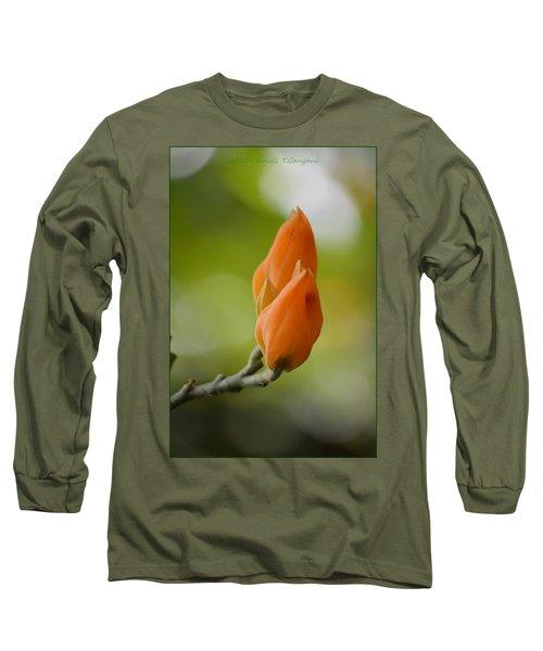 Spirit Of Spring Long Sleeve T-Shirt by Sonali Gangane