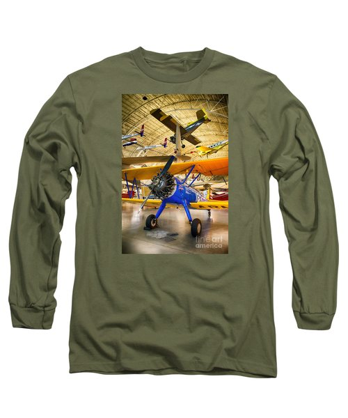 Spirit Of Tuskegee Long Sleeve T-Shirt by Jerry Fornarotto