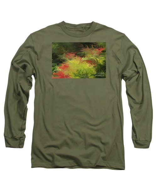Jardin De Picasso  Long Sleeve T-Shirt by The Art of Alice Terrill
