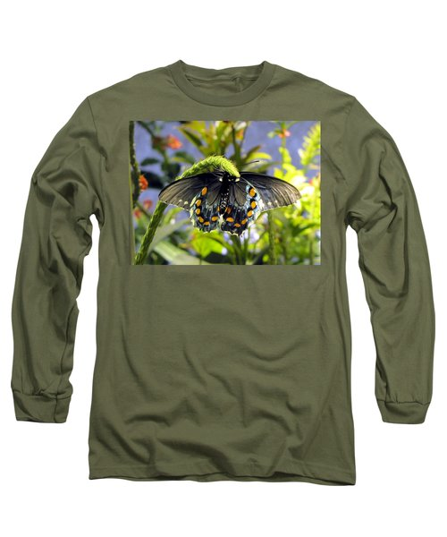 Spotted Beauty Long Sleeve T-Shirt by Jennifer Wheatley Wolf