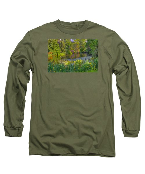 Spring Morning At Mount Auburn Cemetery Long Sleeve T-Shirt