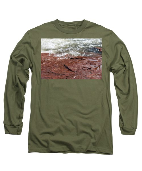Spring At Sedona In Spring Long Sleeve T-Shirt by Debbie Hart