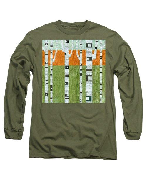Spring Birches Long Sleeve T-Shirt