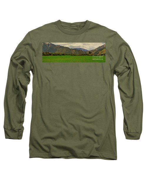 Long Sleeve T-Shirt featuring the photograph Spring Dandylions by Sam Rosen