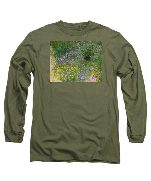 Spring Fling Long Sleeve T-Shirt by Donna  Manaraze