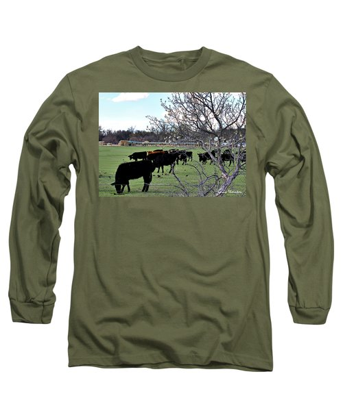 Spring In The Hay Meadow Long Sleeve T-Shirt