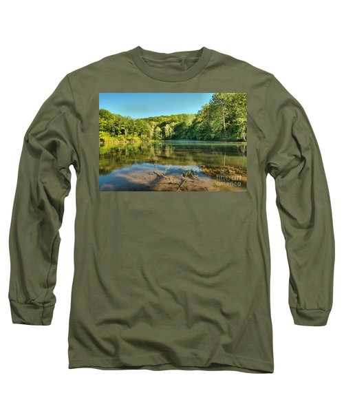 Spring Mill Lake Long Sleeve T-Shirt