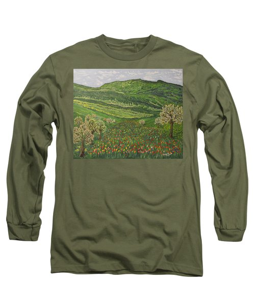 Spring Remembrances Long Sleeve T-Shirt by Felicia Tica