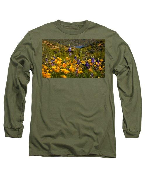 Spring Southwest Style  Long Sleeve T-Shirt