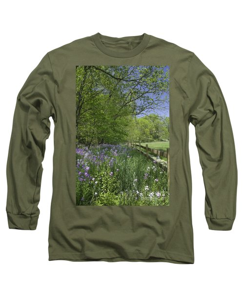 Spring Wildflowers Long Sleeve T-Shirt