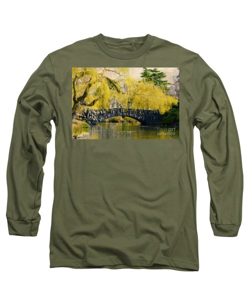 Springtime In Victoria Long Sleeve T-Shirt
