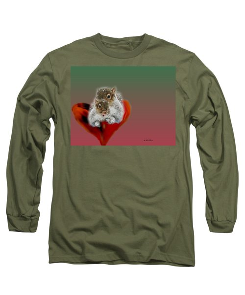 Squirrels Valentine Long Sleeve T-Shirt