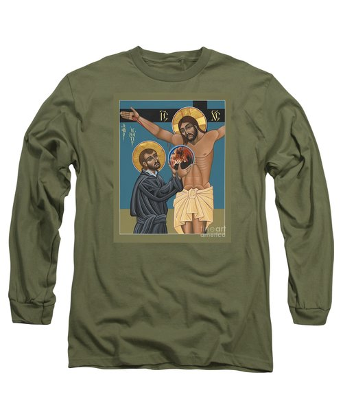 St. Ignatius And The Passion Of The World In The 21st Century 194 Long Sleeve T-Shirt by William Hart McNichols