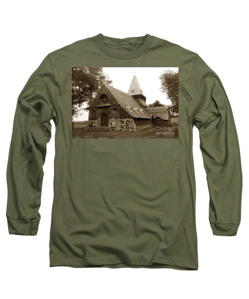 St. Johns Chapel Del Monte Monterey California 1895 Long Sleeve T-Shirt