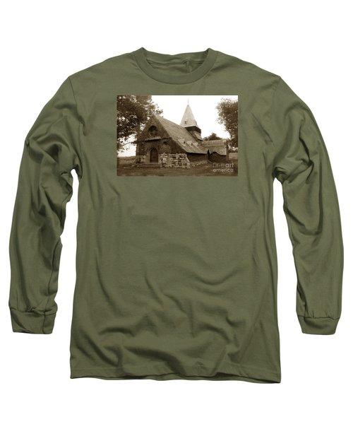 St. Johns Chapel Del Monte Monterey California 1895 Long Sleeve T-Shirt