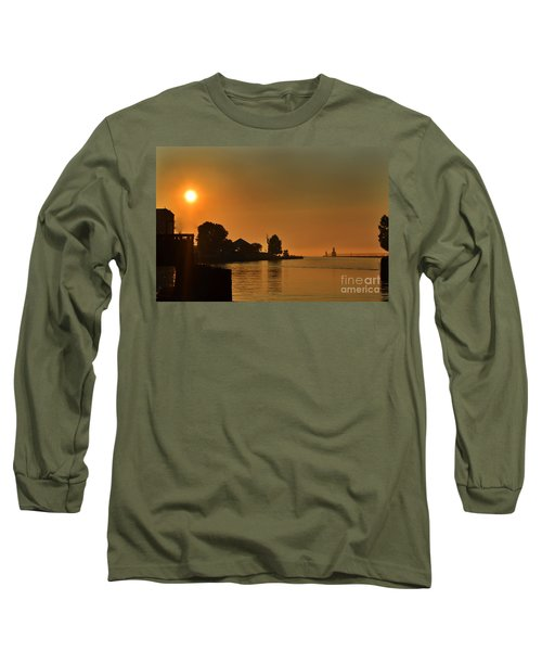 St Joseph Lighthouse Sunset Long Sleeve T-Shirt