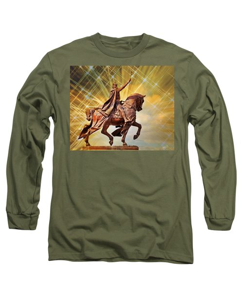 Long Sleeve T-Shirt featuring the photograph St. Louis 5 by Marty Koch