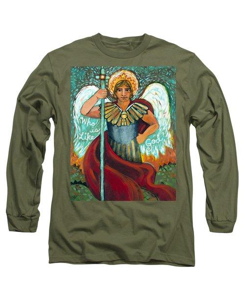 St. Michael The Archangel Long Sleeve T-Shirt