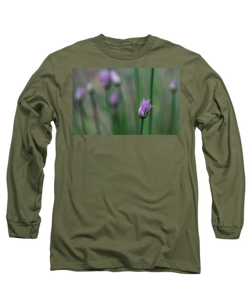 Long Sleeve T-Shirt featuring the photograph Not Just A Pretty Flower by Debbie Oppermann