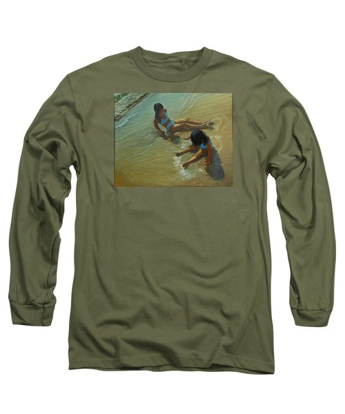 Star Maker Long Sleeve T-Shirt by Thu Nguyen