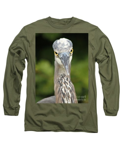 Staredown Long Sleeve T-Shirt by Heather King