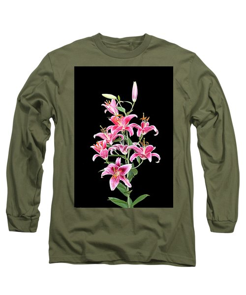 Long Sleeve T-Shirt featuring the photograph Stargazers by Kristin Elmquist