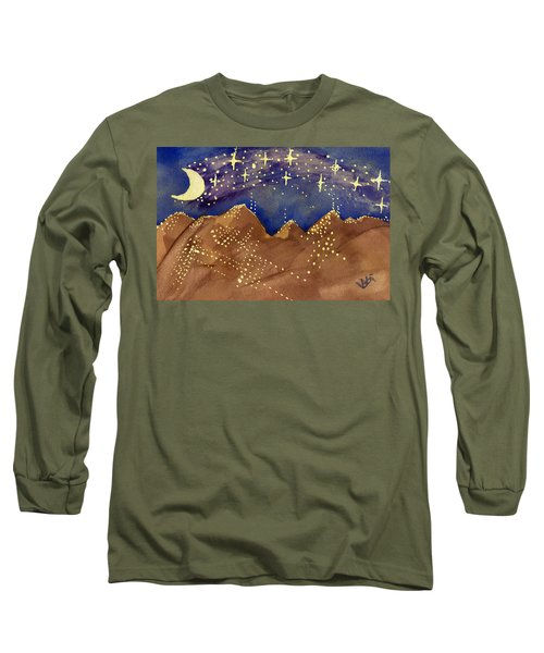 Stars Of Heaven And Earth Long Sleeve T-Shirt