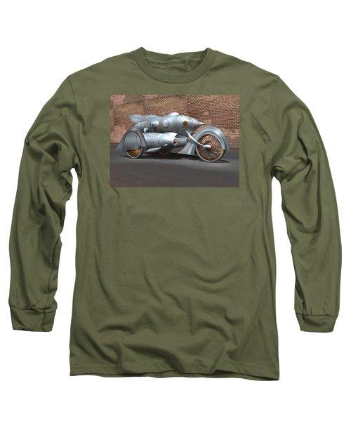Steam Turbine Cycle Long Sleeve T-Shirt by Stuart Swartz