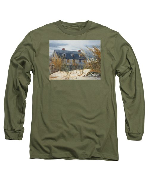 Stevens House Long Sleeve T-Shirt by Barbara Barber