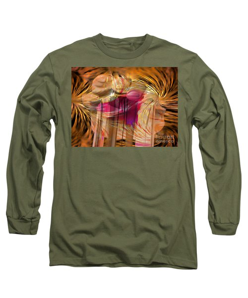 Sticky Hand Long Sleeve T-Shirt