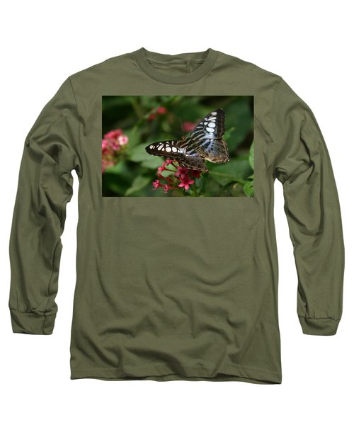 Long Sleeve T-Shirt featuring the photograph Stopping By by Denyse Duhaime