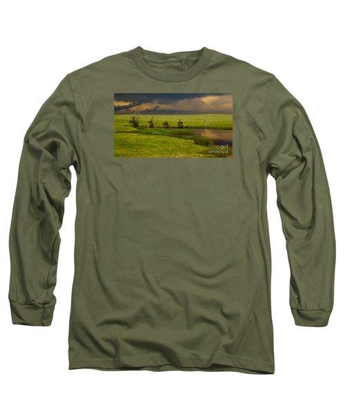 Storm Crossing Prairie 1 Long Sleeve T-Shirt