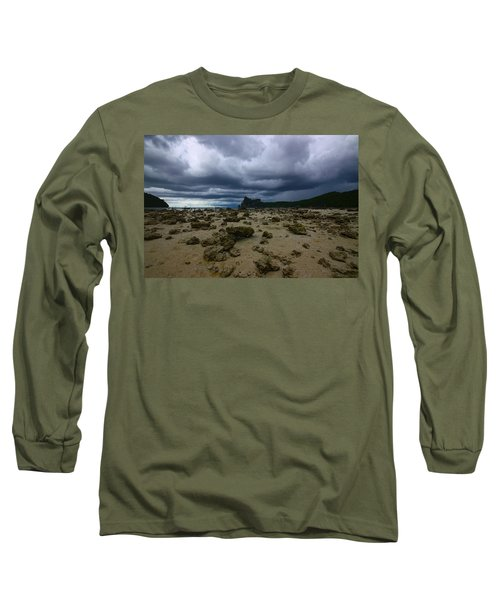 Stormy Beach Long Sleeve T-Shirt