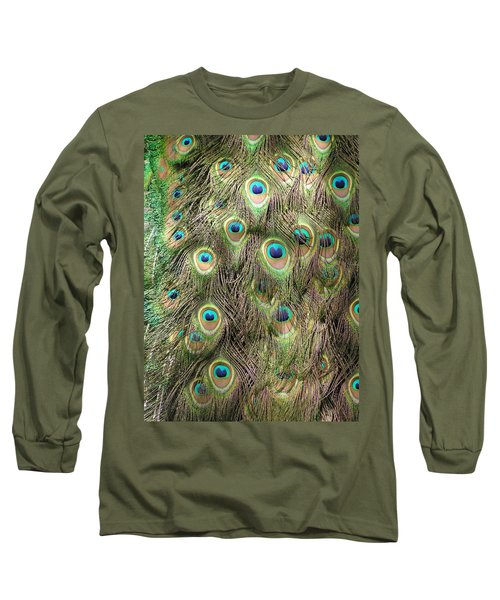 Long Sleeve T-Shirt featuring the photograph Stream Of Eyes by Diane Alexander