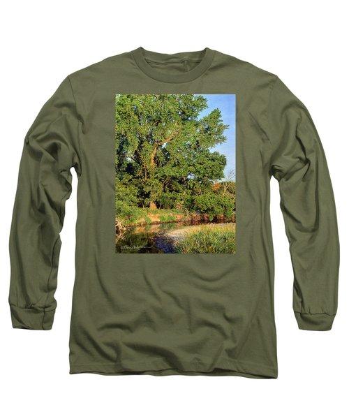 Streamside Cottonwood Long Sleeve T-Shirt
