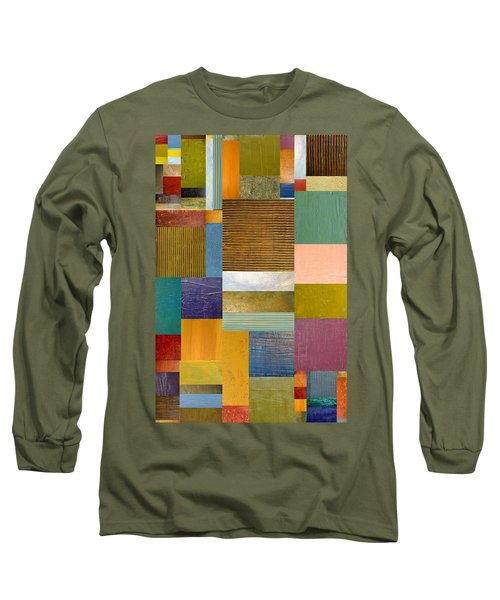 Strips And Pieces Lv Long Sleeve T-Shirt