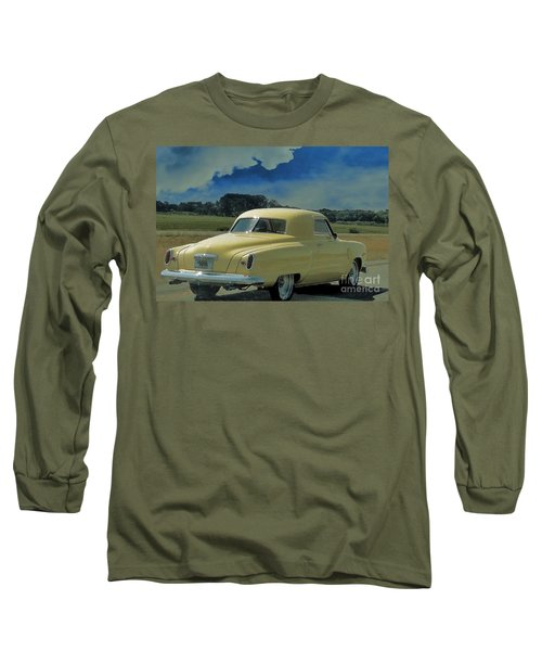 Studebaker Starlight Coupe Long Sleeve T-Shirt by Janette Boyd