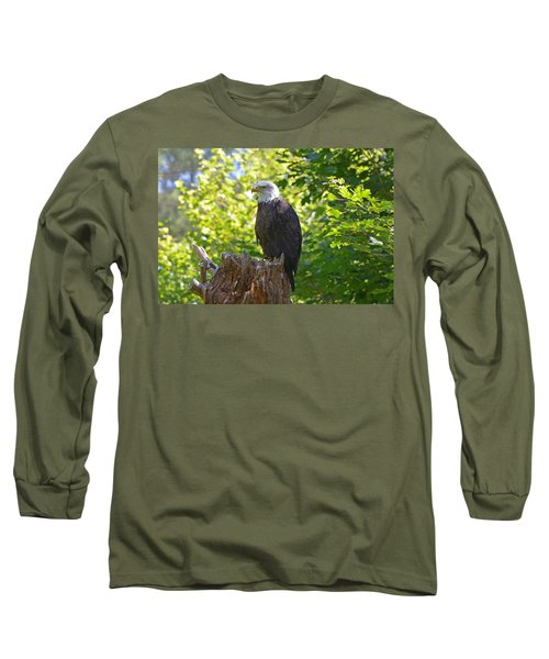 Long Sleeve T-Shirt featuring the photograph Stumped by David Porteus