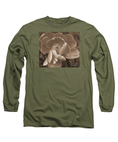 Subdued  Long Sleeve T-Shirt by Eunice Miller