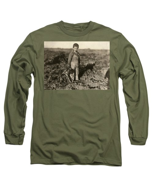 Sugar Beet Worker, 1915 Long Sleeve T-Shirt